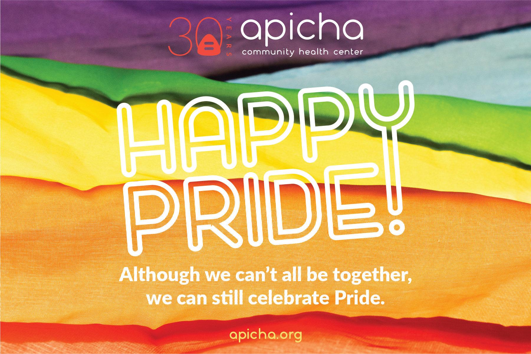 Pride Month Apicha CHC